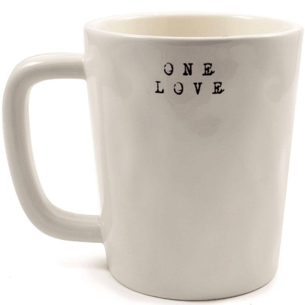 LIFE IS GOOD Go Places Artisan Mug - CREAM