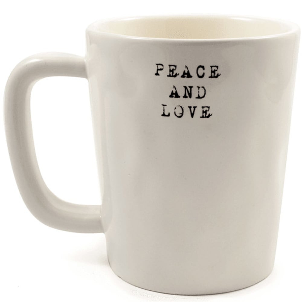 LIFE IS GOOD Go Places Artisan Mug - CREAM 44711
