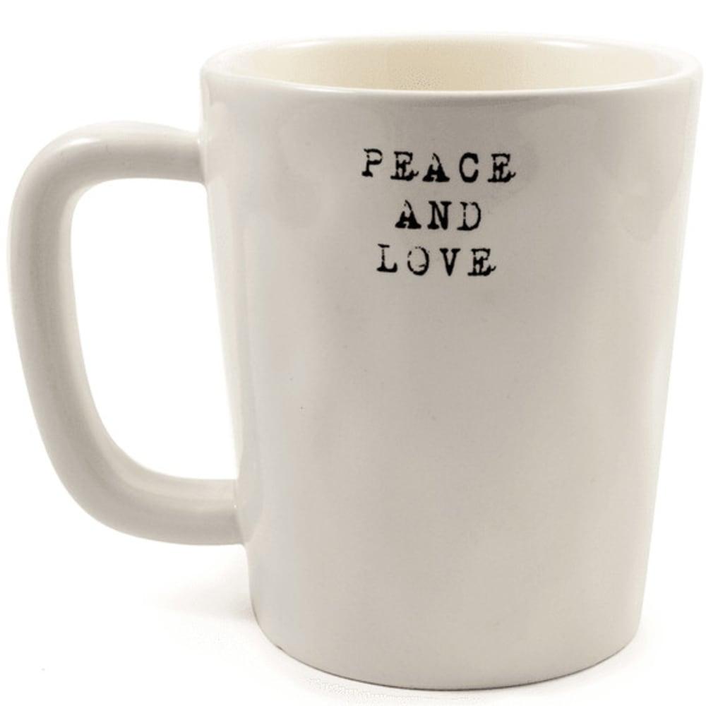 LIFE IS GOOD Go Places Artisan Mug - CREAM 44711