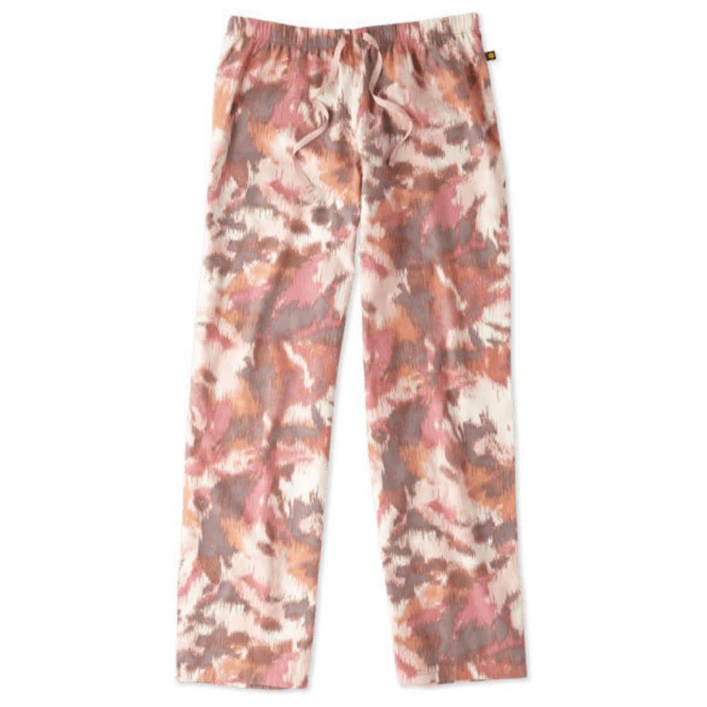 LIFE IS GOOD Women's Ikat Print Sleep Pants - PINK/ORANGE