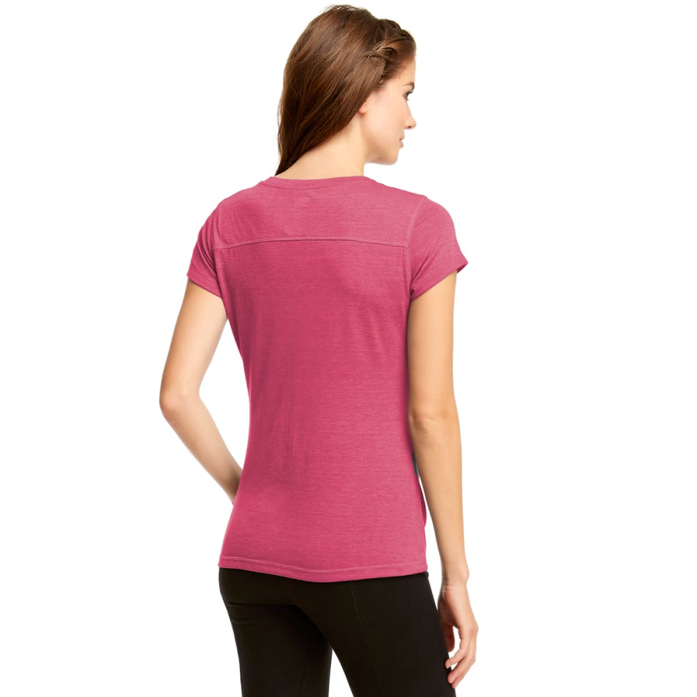 MARIKA Women's Slimming Tee - FUSCHIA HEATHER -27E