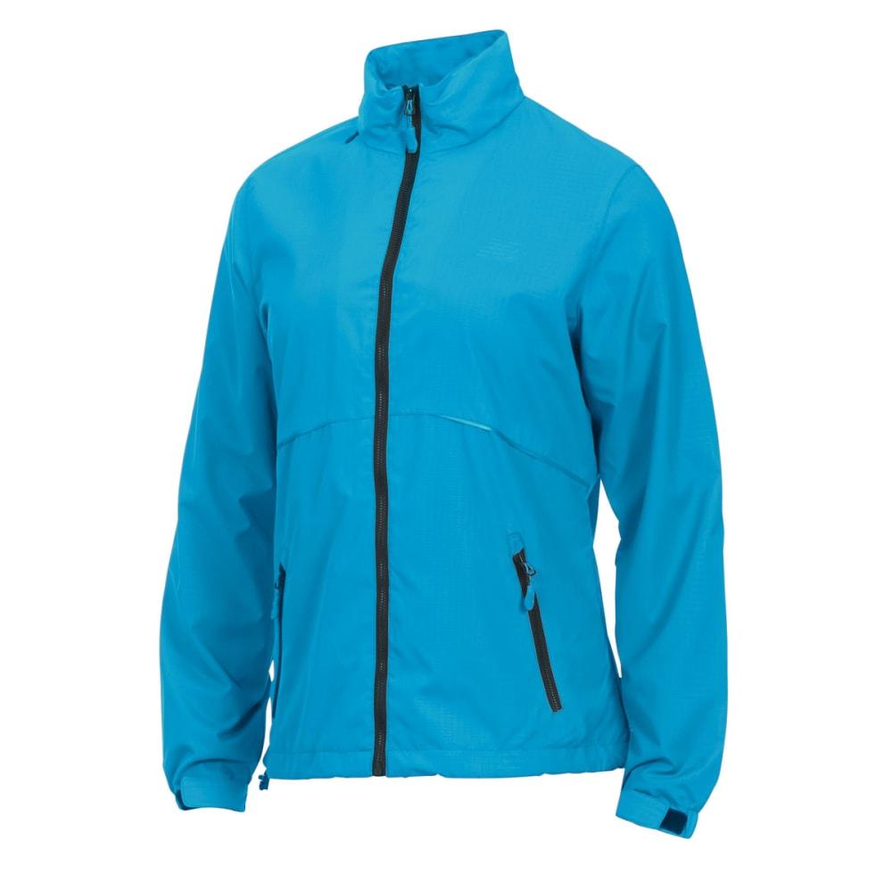 NEW BALANCE Women's Geo Printed Mock Neck Jacket - BAYSIDE