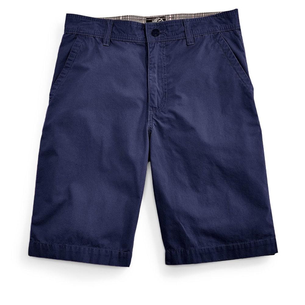 D55 Guys' Flat Front Shorts - NAVY