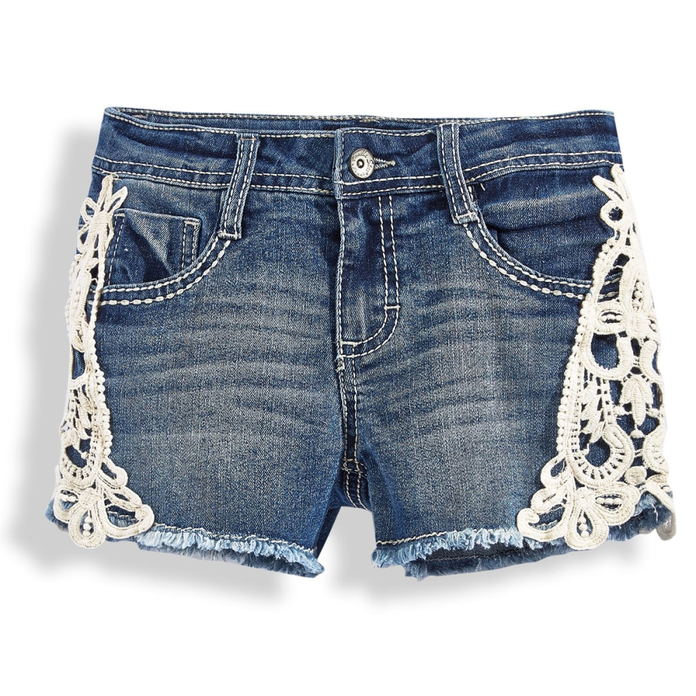 VANILLA STAR Girls' Crochet Shorts - MARILYN WAS