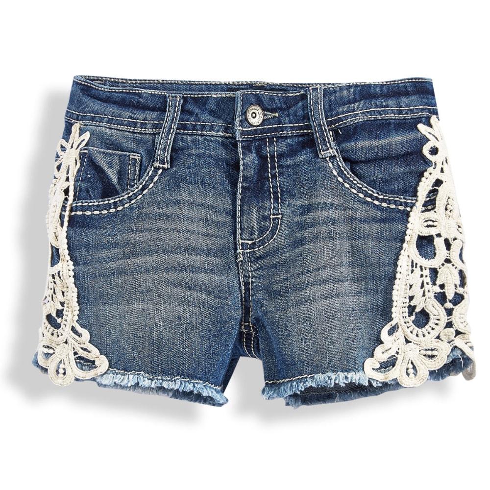 VANILLA STAR Girls' Crochet Shorts - MARILYN WAS