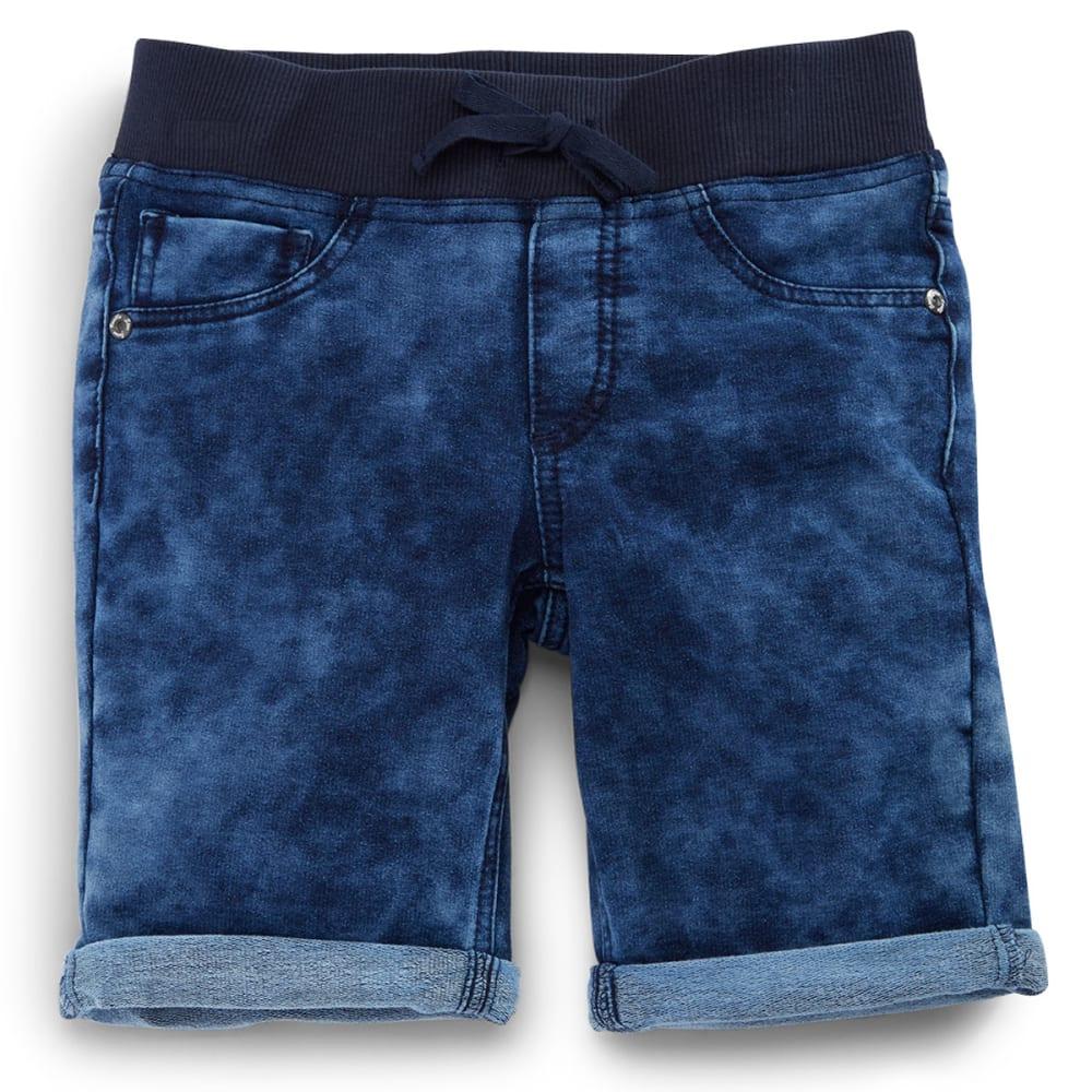 VANILLA STAR Girls' Knit Denim Bermuda Shorts - SANTIGOLD