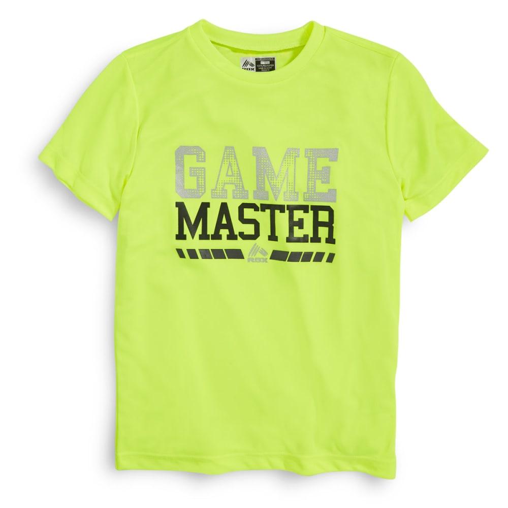 RBX Boys' Game Master Tee - NEON YELLOW