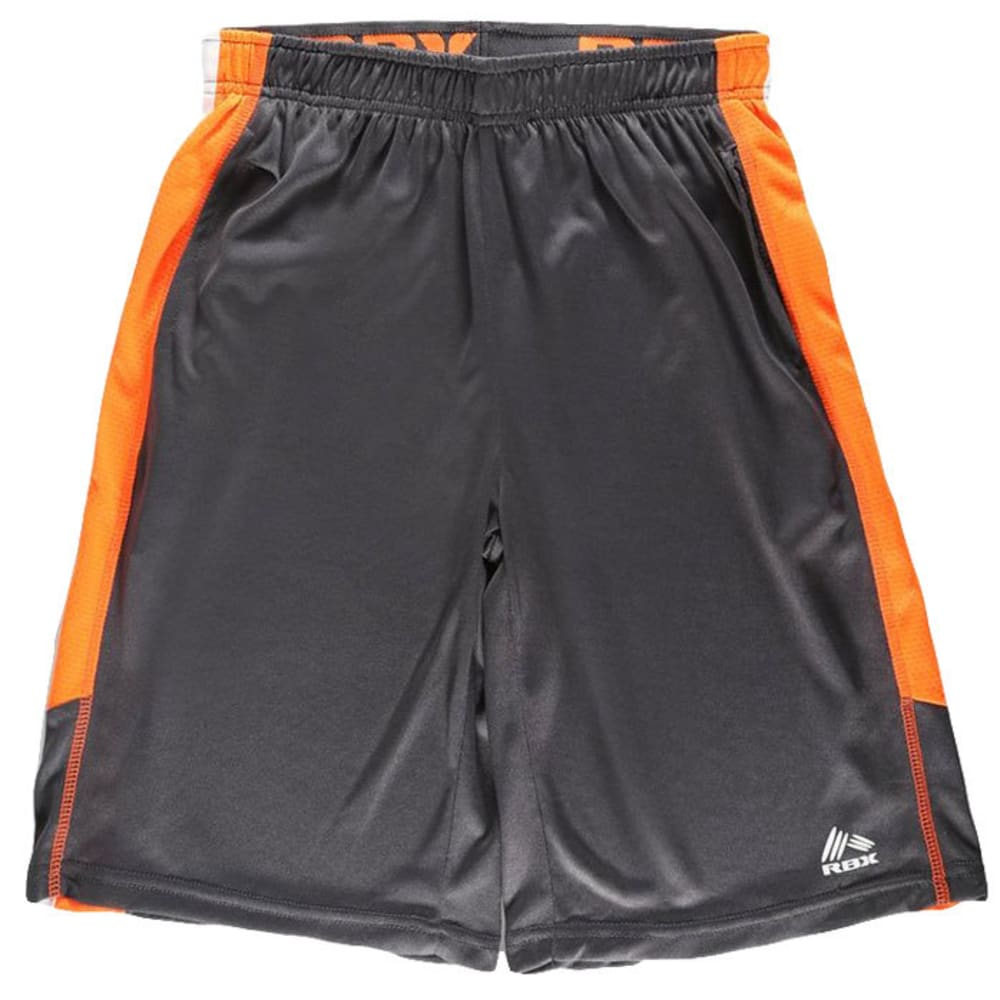 RBX Boys' Ventilated Performance Shorts - CHARCOAL