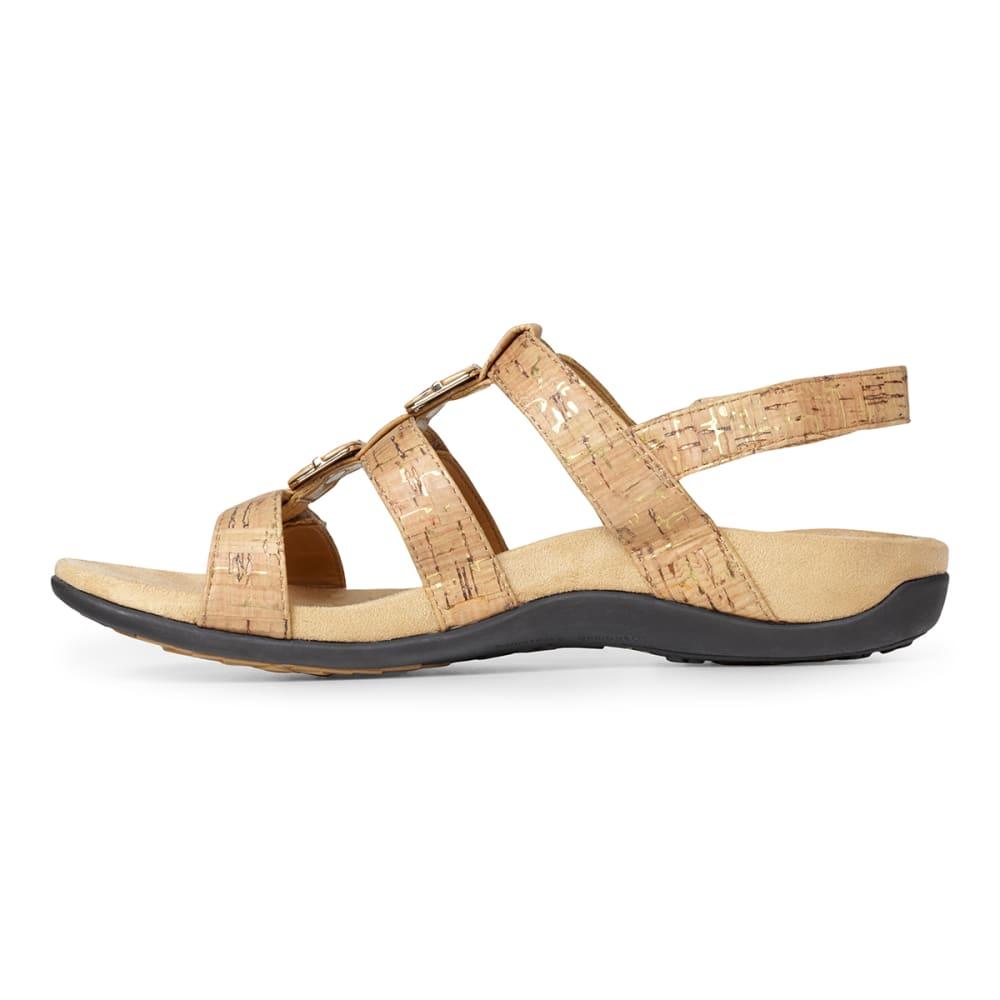 VIONIC Women's Amber Adjustable Sandal - AMBER