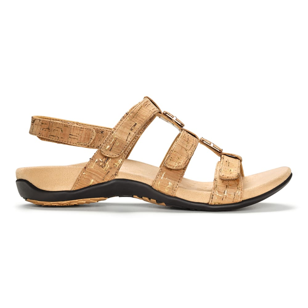 VIONIC Women's Amber Adjustable Sandal - AMBER