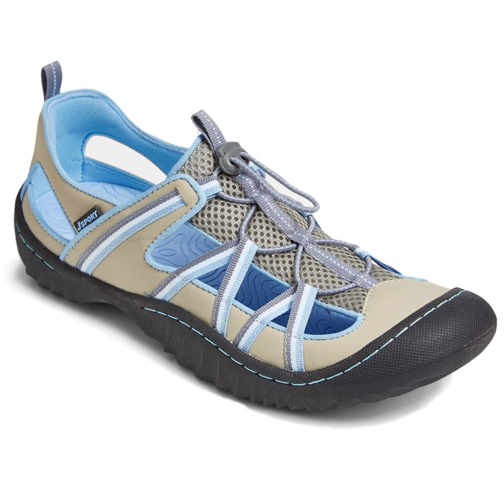 JSPORT Women's Breeze Slip-On Shoes - LT. GREY/STONE BLUE