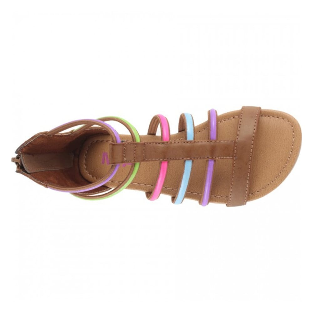 TRIMFOOT Girls' MIA Adrian Sandal - LAGOON