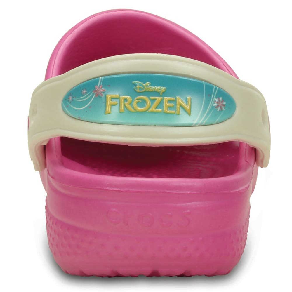 CROCS Girls' Creative Crocs Frozen Frenzy Clog - PINK