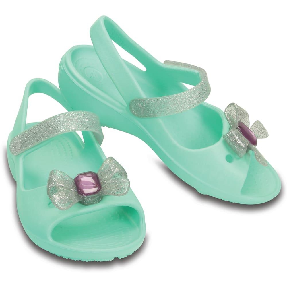 CROCS Kids' Keeley Springtime Mini Wedge Sandals - MINT