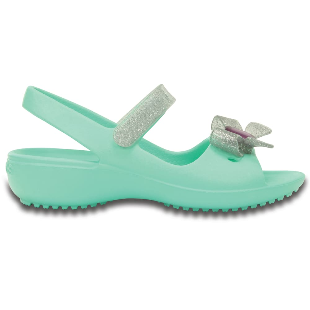 CROCS Kids' Keeley Springtime Mini Wedge Sandals - MINT