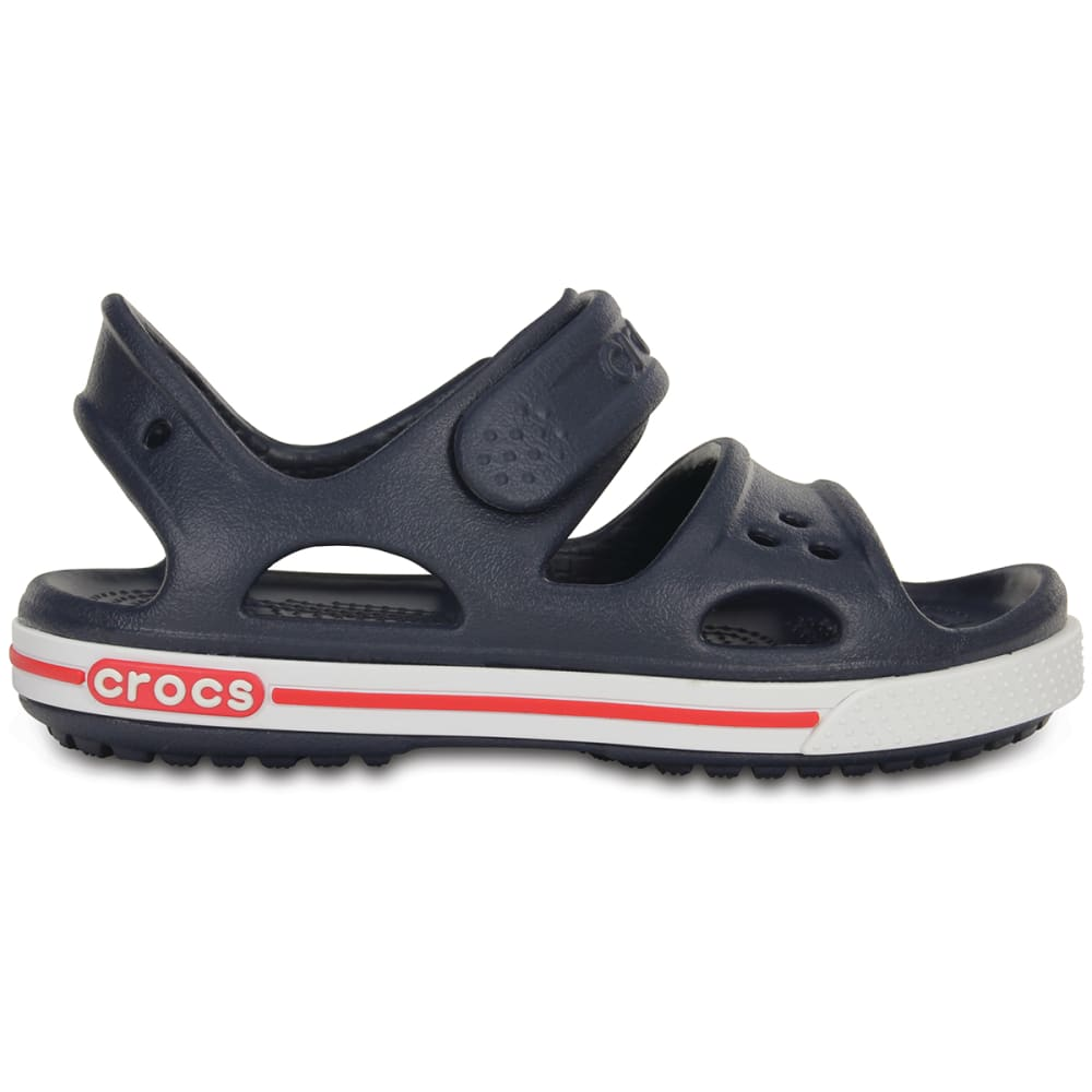 CROCS Kids' Crocband II Sandals - NAVY
