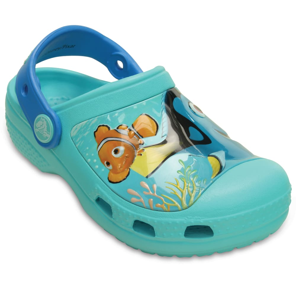 CROCS Kids' Creative Finding Dory Clogs - POOL