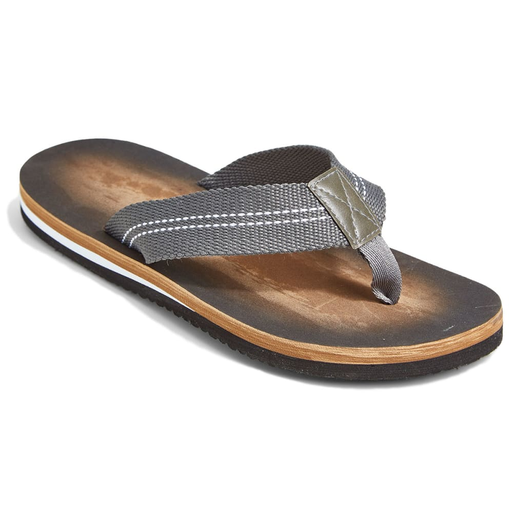 NORTHSIDE Men's Sereno Grey Flip Flops - GREY