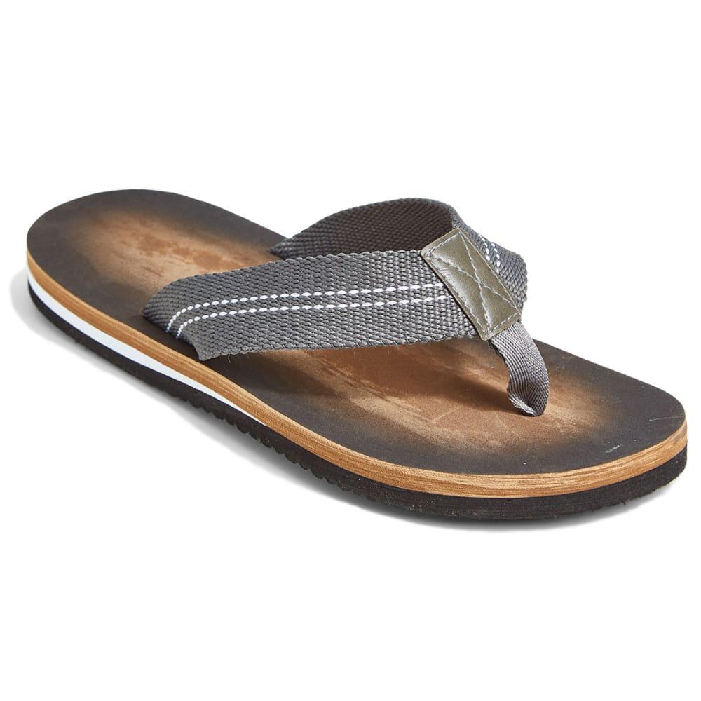 NORTHSIDE Men's Sereno Grey Flip Flops - GREY