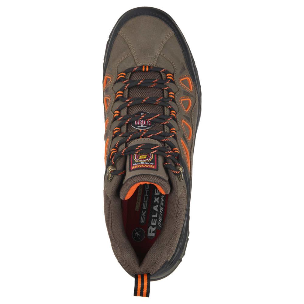 SKECHERS Men's Dunmor Work Shoes - BROR BROWN