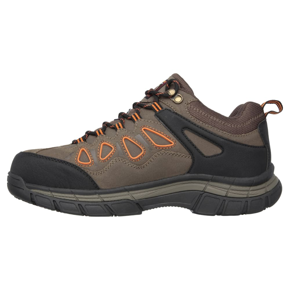 SKECHERS Men's Dunmor Work Shoes - BROR BROWN