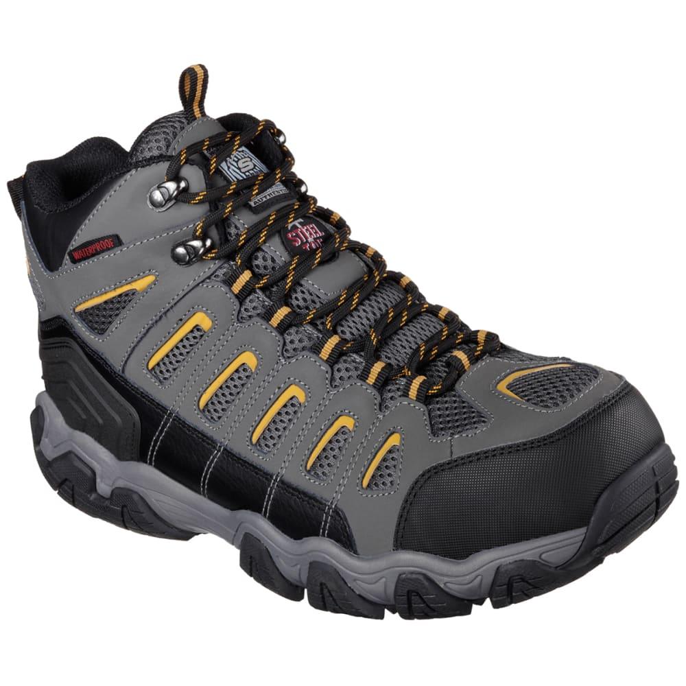 Skechers Men's Blais Bixford Steel Toe Work Shoes - Black, 10