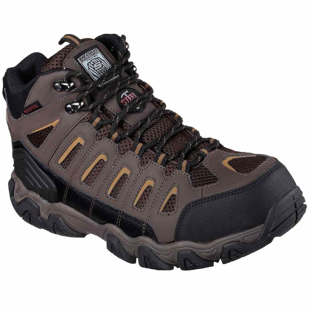 SKECHERS Men's Blais Bixford Steel Toe Work Shoes 8