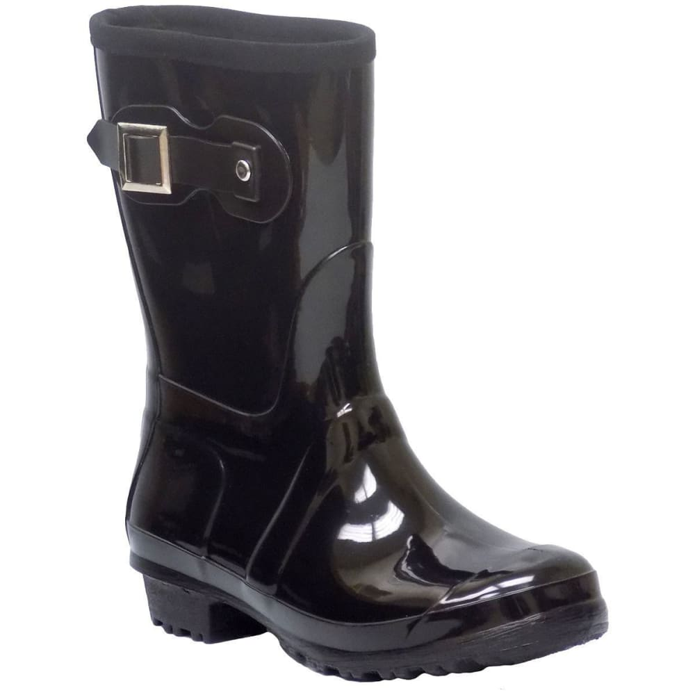 ITASCA Women's Rainy Lake Rain Boots - BLACK