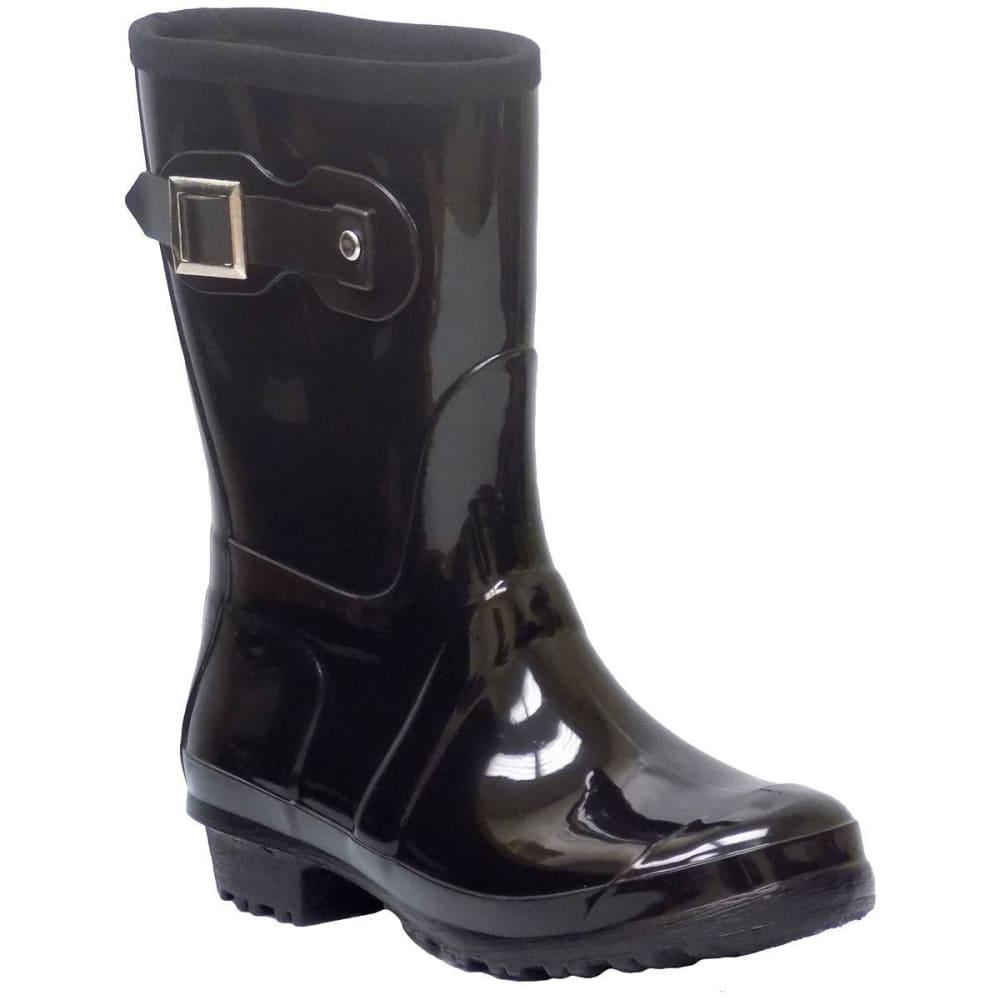 ITASCA Women's Rainy Lake Rain Boots - BLACK
