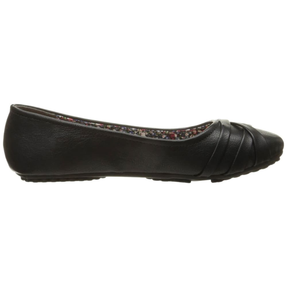 JELLYPOP SHOES Women's Spencer Ballet Flats - BLACK