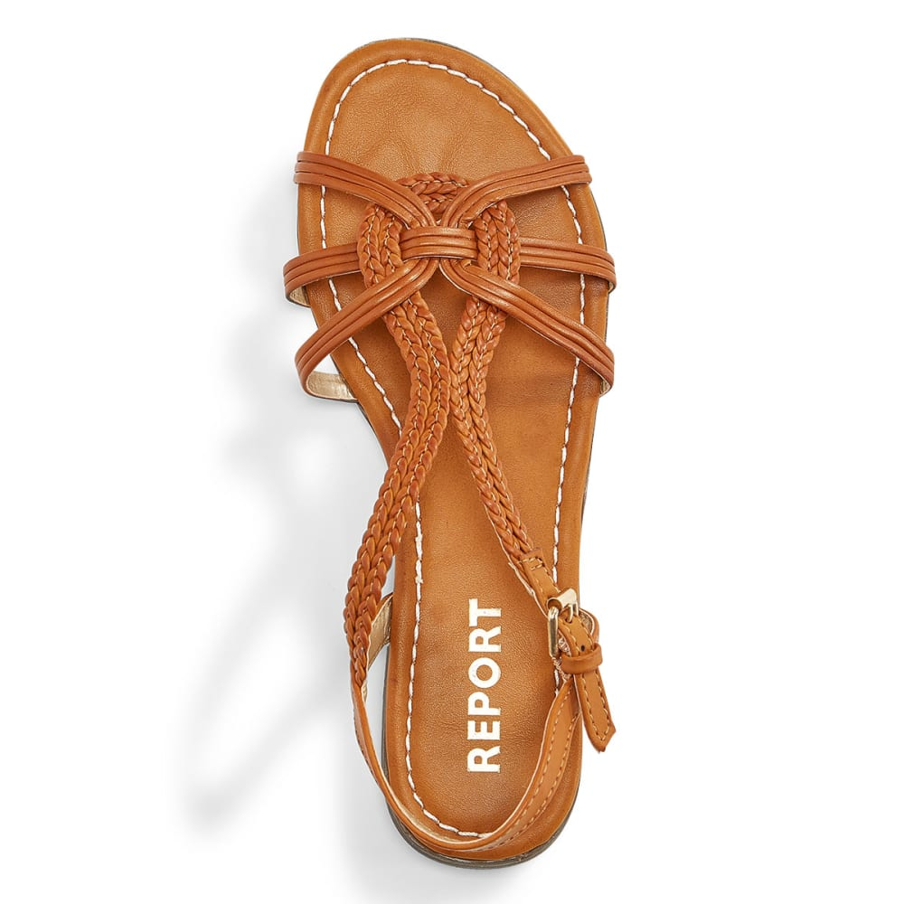 REPORT Women's Garam Woven Sandals - TAN