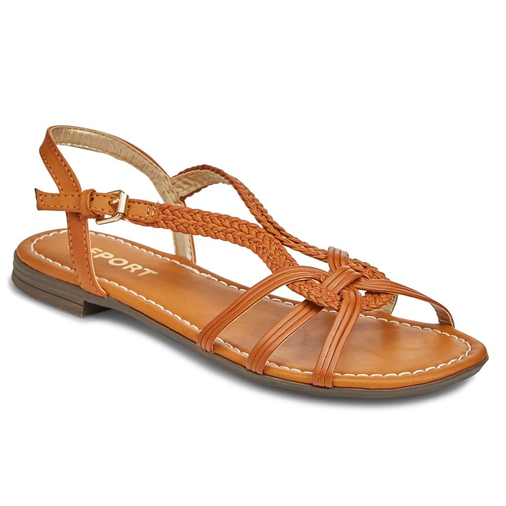REPORT Women's Garam Woven Sandals - TAN