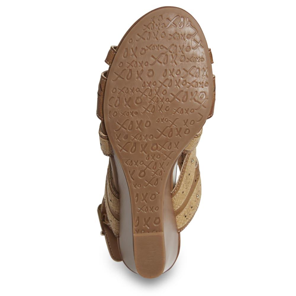 XOXO Women's Shani Wedge Sandals - TAN