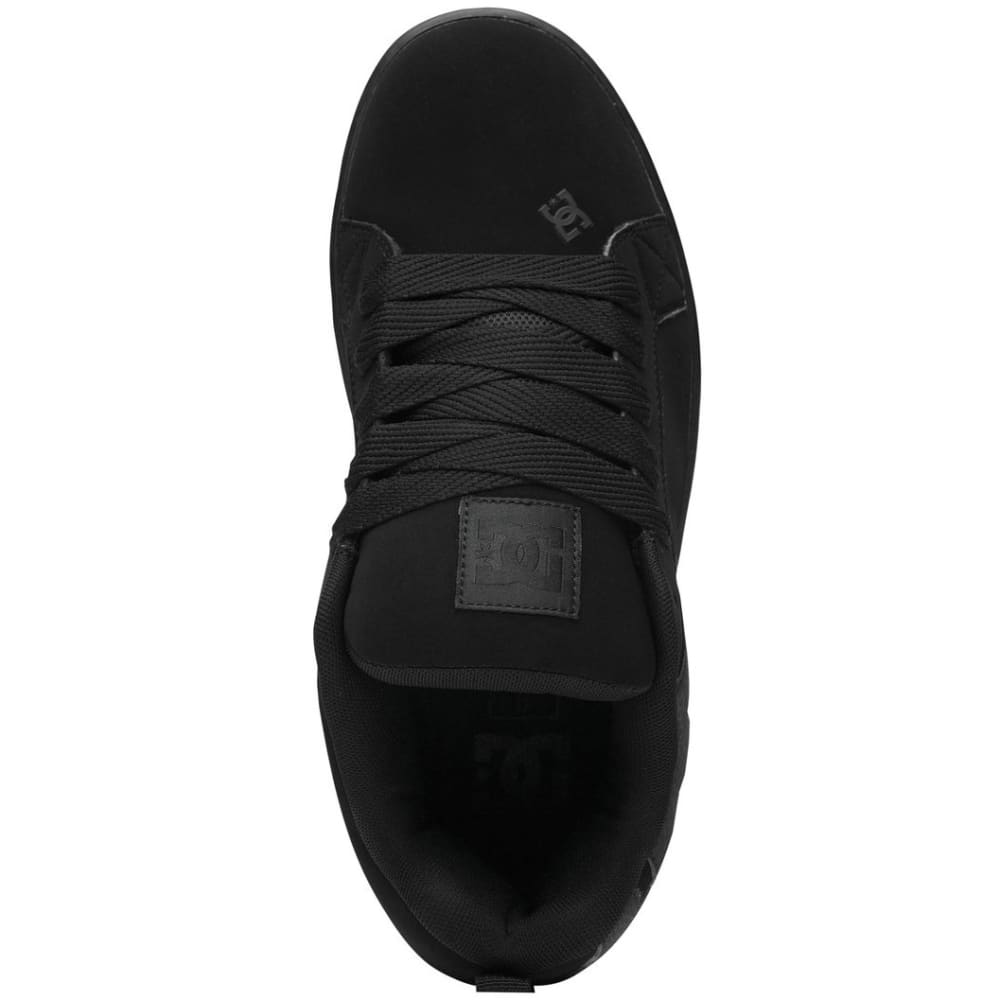 DC SHOES Men's Court Graffik Shoes - BLACK