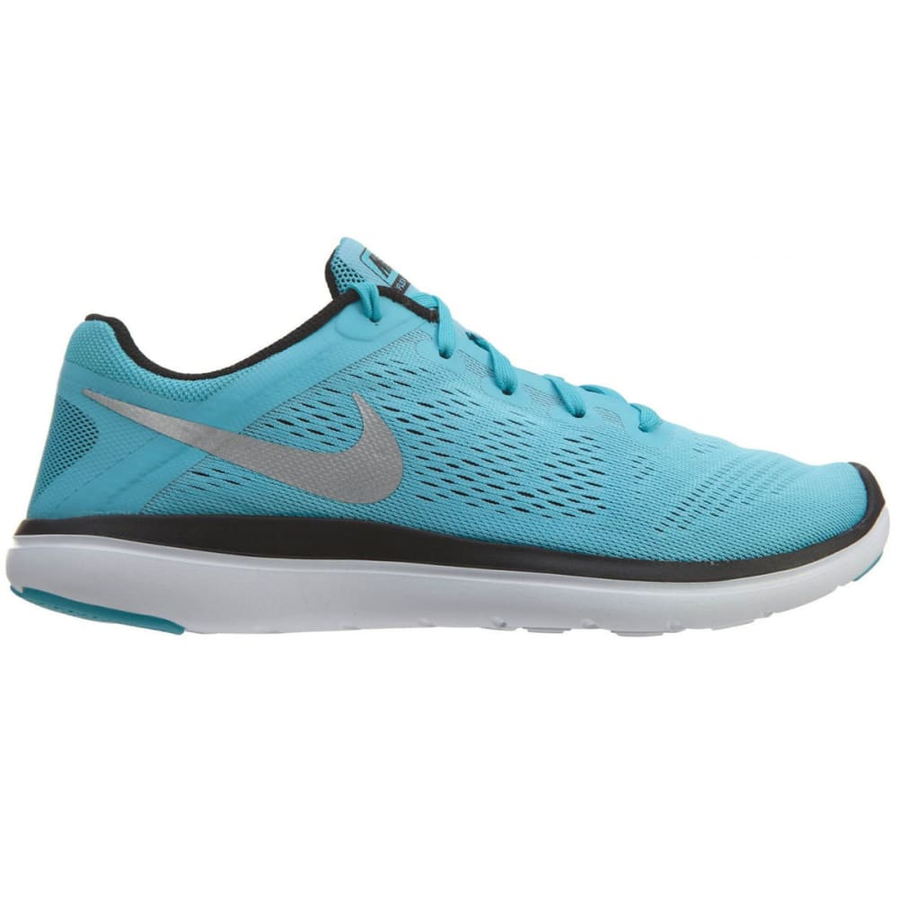 NIKE Big Girls' Flex 2016 RN Running Shoes - GAMMA BLUE