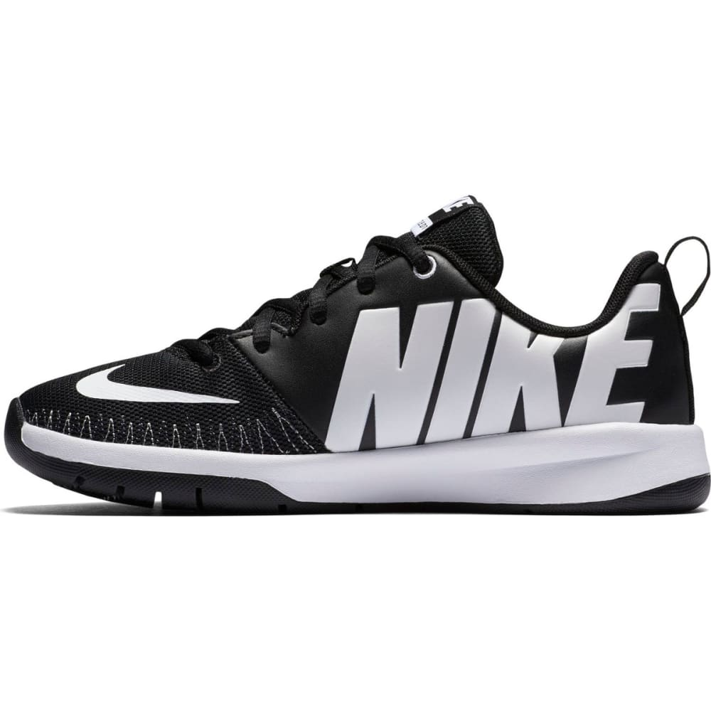 NIKE Big Boys' Team Hustle D 7 Basketball Shoes - BLACK
