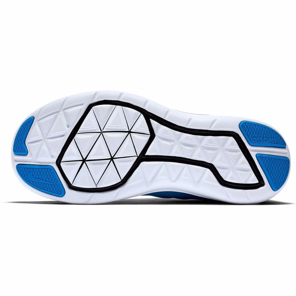NIKE Big Boys' Flex 2016 RN Running Shoes - PHOTO BLUE