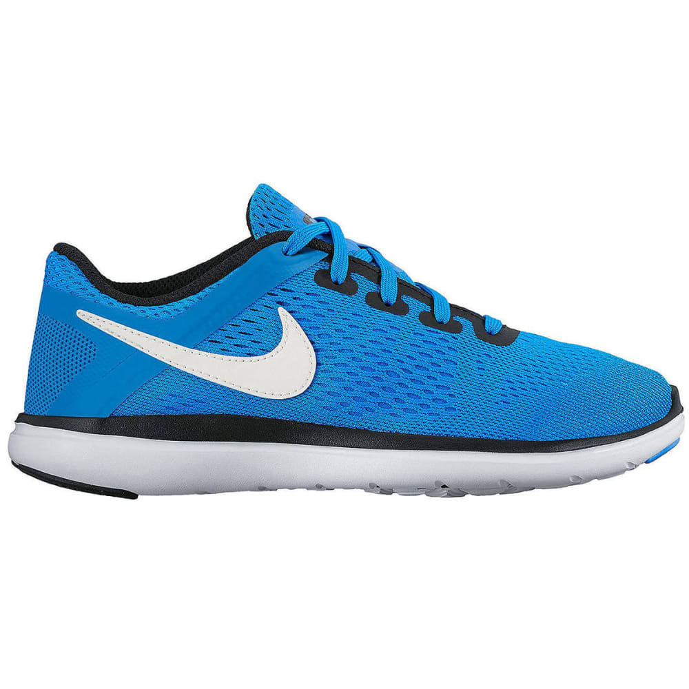 NIKE Big Boys' Flex 2016 RN Running Shoes - PHOTO BLUE