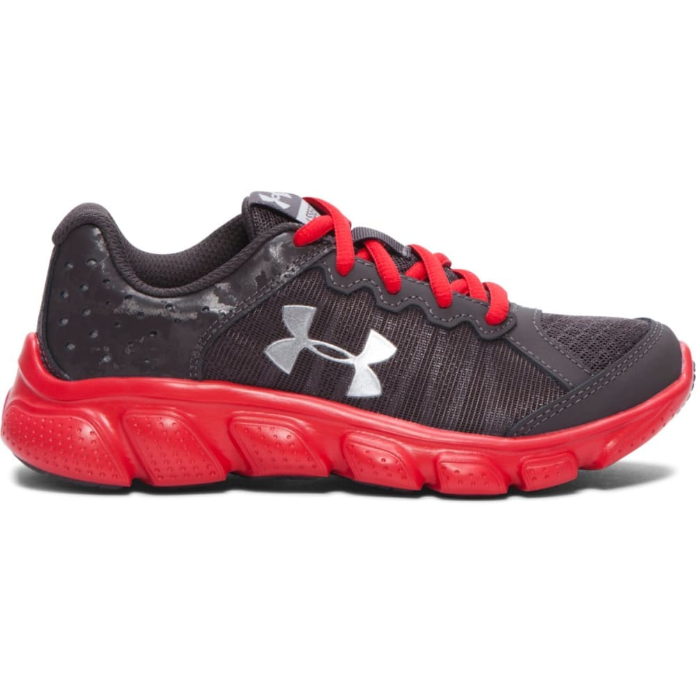 UNDER ARMOUR Boys' Preschool Micro G Assert 6 Shoes - CHARCOAL
