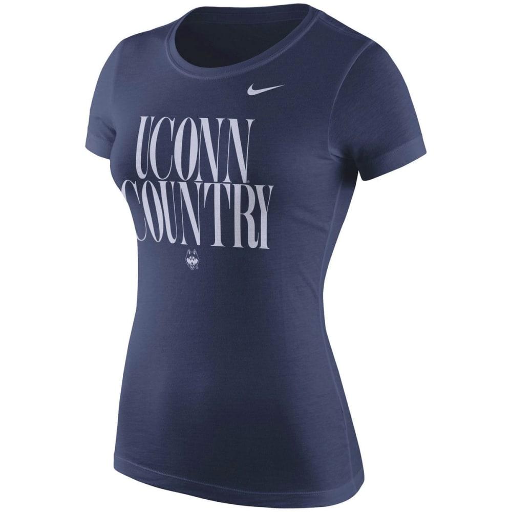 UCONN Women's Spirit Navy Short Sleeve Tee S