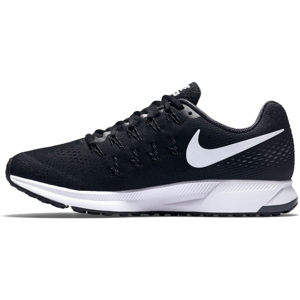 NIKE Women's Air Zoom Pegasus 33 Running Shoes - BLACK