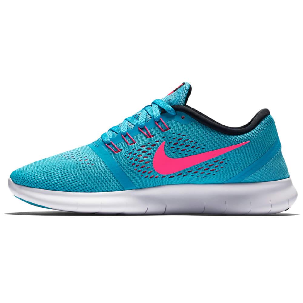 NIKE Women's Free RN Running Shoes - GAMMA BLUE