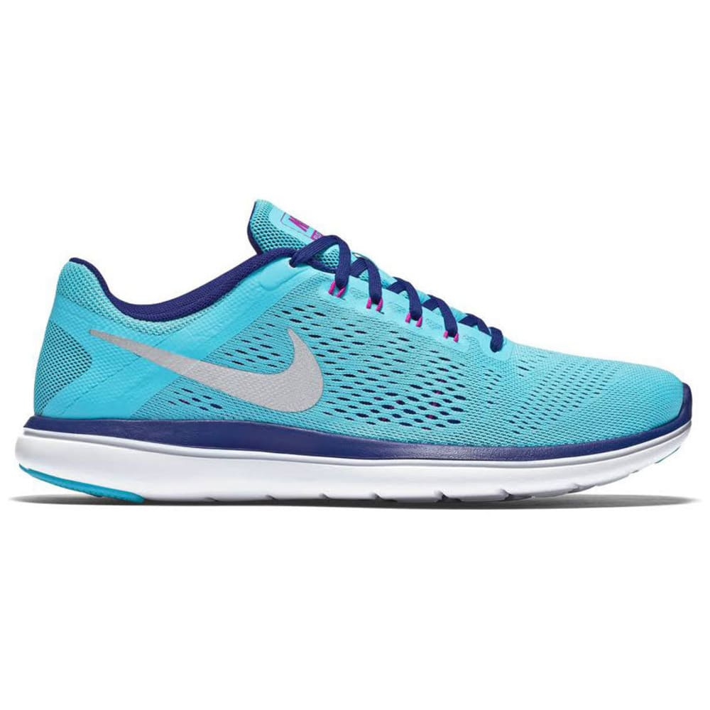 NIKE Women's Flex 2016 RN Running Shoes - GAMMA BLUE
