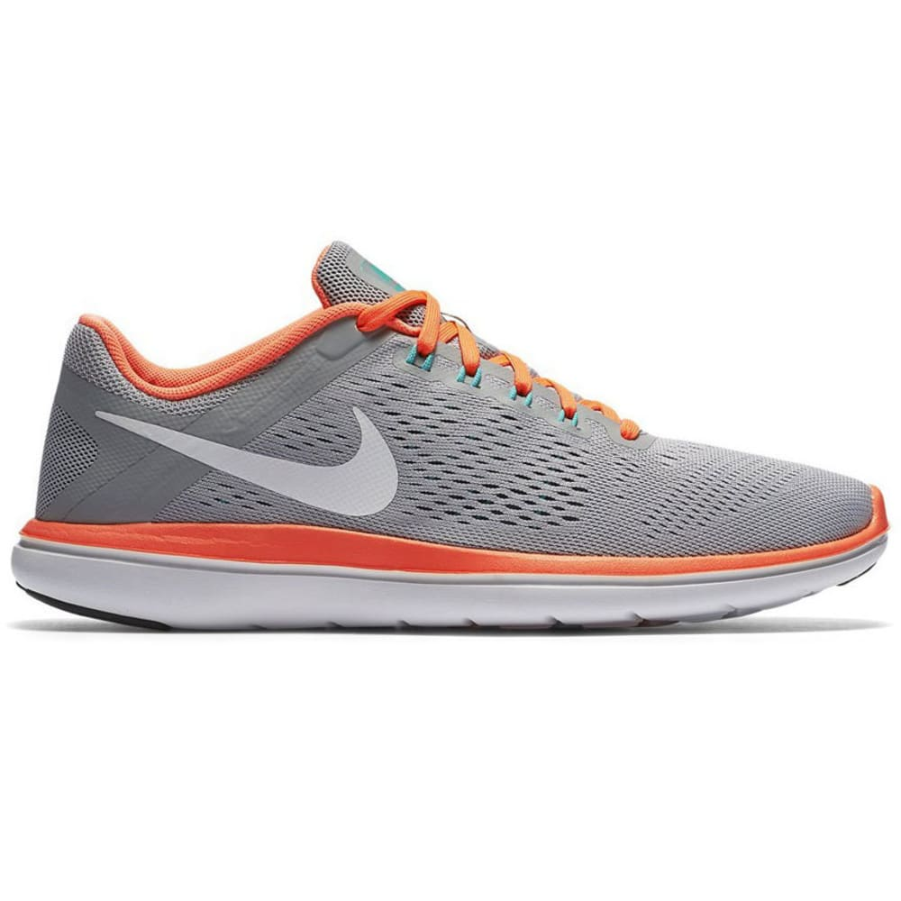 NIKE Women's Flex 2016 RN Running Shoes - WOLF GRY