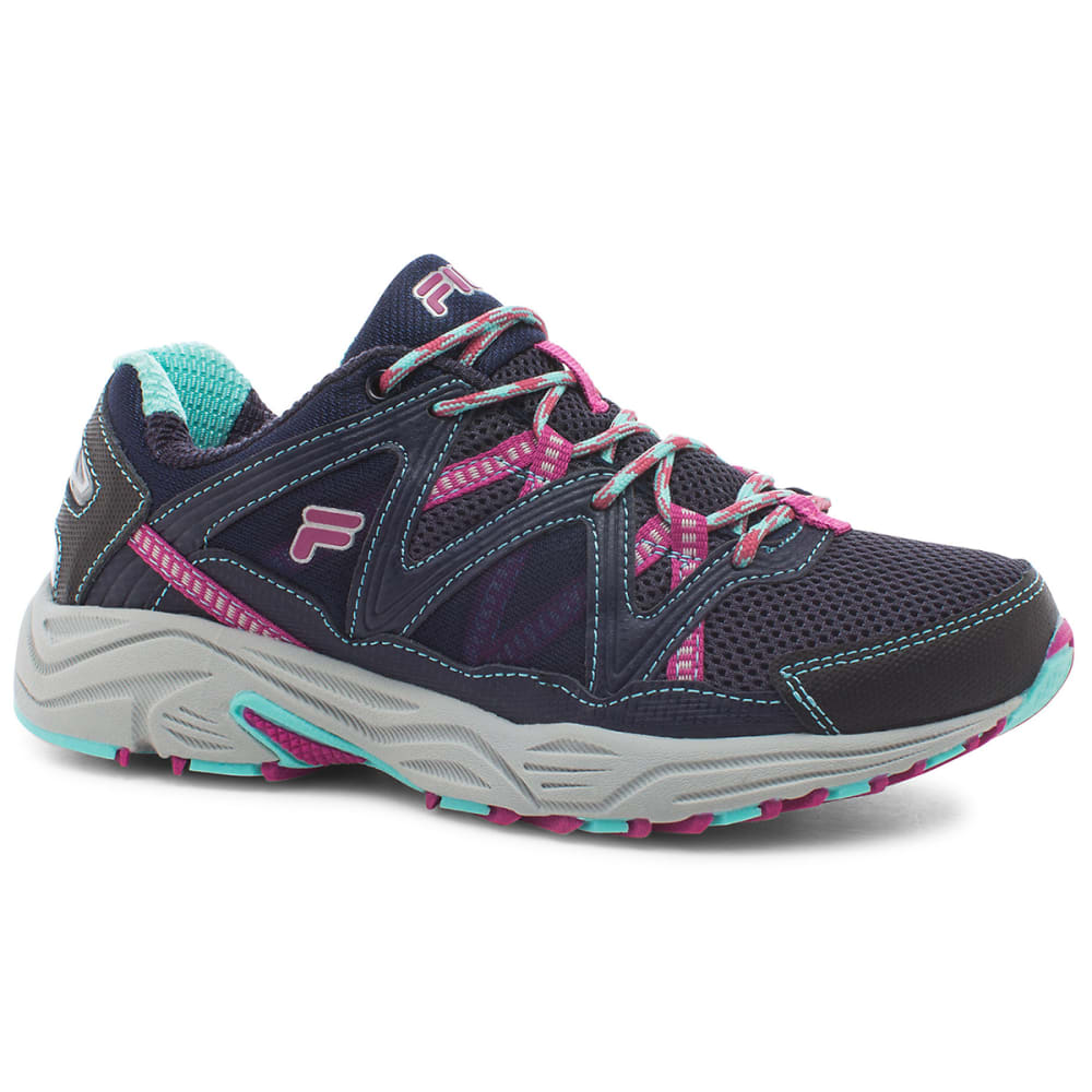 FILA Women's Vitality Trail Running Shoes - NOON BLUE