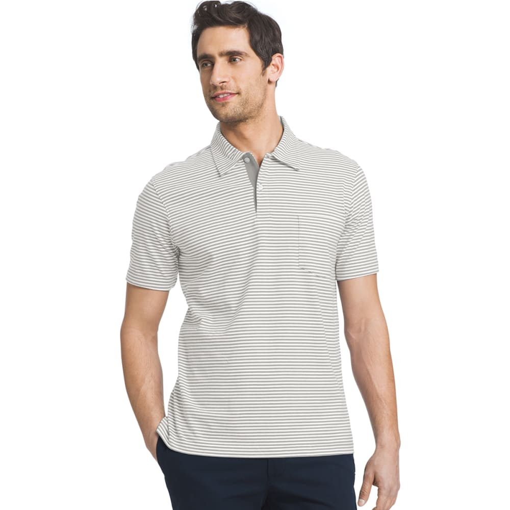IZOD Men's Chatham Stripe Polo - 050-HIGH RISE