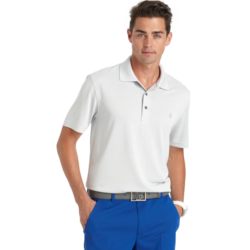 IZOD Men's Greenie Feeder Stripe Golf Polo - 050-HIGH RISE