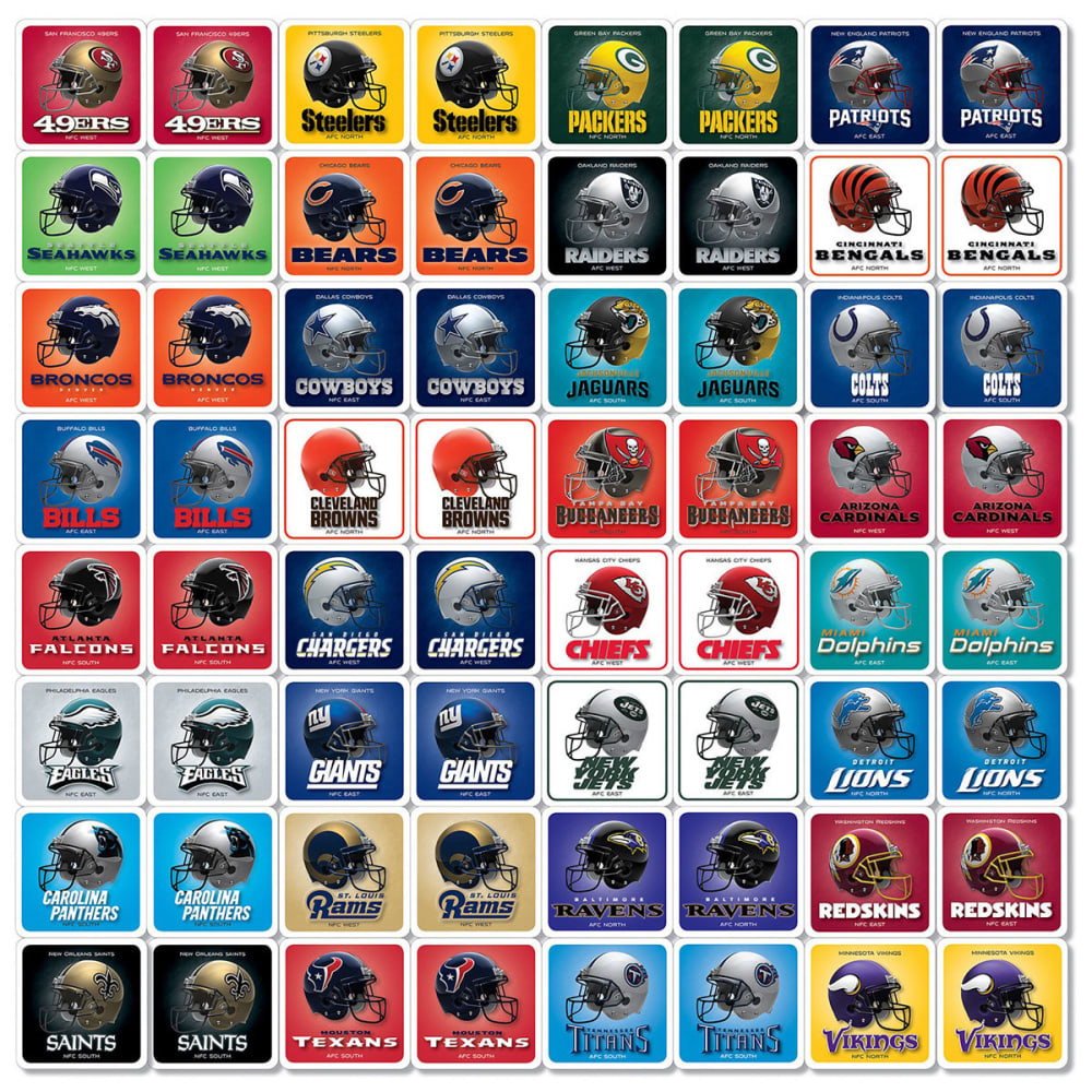 NFL Matching Game - NFL