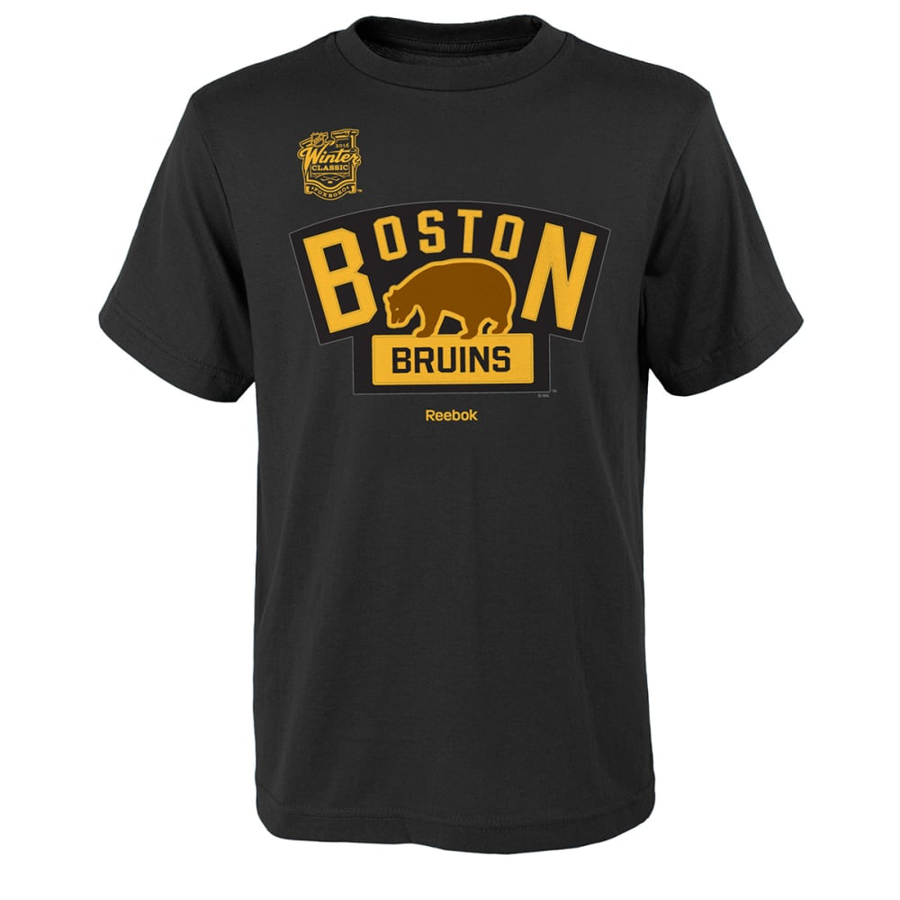BOSTON BRUINS Youth 2016 Winter Classic Bergeron Player Tee - BLACK