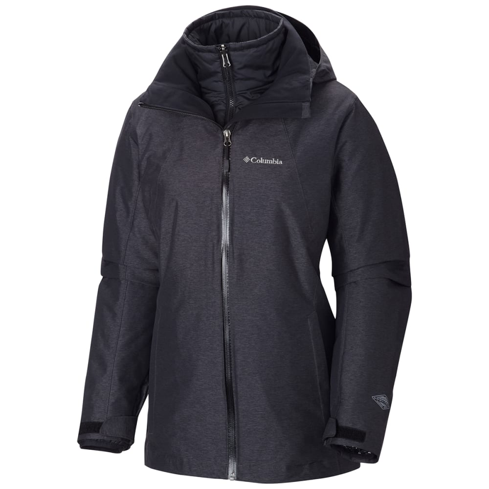 Columbia Women's Whirlibird(TM) Interchange Jacket - Black, XS